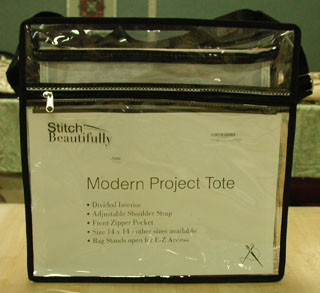 14x14 Project Bag Front