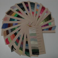 Silk & Ivory Color Card