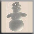 12060 Frosted Snowman - Matte Crystal (SO)