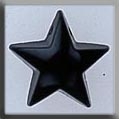 12129 Large Domed Star - Black Onyx (SO)