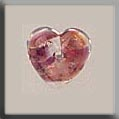 12181 Heart Cabochon - Red Opal (SO)