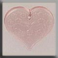 12182 Embossed Heart - Pale Rose (SO)
