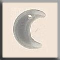 12184 Small Crescent Moon - Matte Crystal (SO)