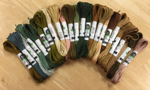 Set of 38 SDA skeins for HATS Queen May sampler ($153.90)